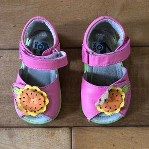 See Kai Run Sandals with Velcro Strap Size 5